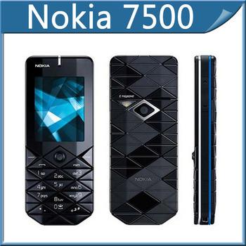 7500 Original Nokia 7500 Prism Unlock Cell Phones Bluetooth FM JAVA In Stock