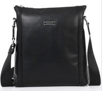 2013 utility Genuine Leather bag messenger bags urban Man cowhide leather messenger bag sports M90069-4