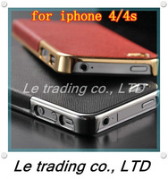 Ultra Slim Platinum Design Hard Case For iPhone 4S 4 luxury Phone Cover Accessory