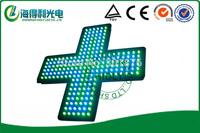 48*48cm high brightness LED electronic indoor cross sign
