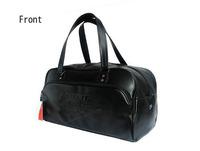 Free shipping 2013 brand designer high quality pu sport bag gym totes ,fashion sport bag large shoulder bags brand items GB18