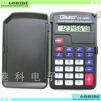 Brand New Mini General purpose Pocket Light small calculator ga328 black high plastic keys buttom lcd display in free shipping!!