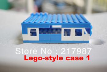 Pi case Colorful Building block pi box ,Factory price Pi Box for Raspberry Pi  in stock!+3 pcs pure aluminum heat sink set kit