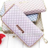 Fashion metal chain 8 Herringbone wallet  Summer new Korean version of Women's Wallets Wholesale Price