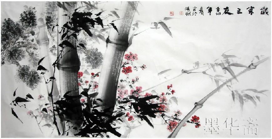 oriental asiático tinta pintura original escova decoração pintura de bambu chinês da pintura da arte de papel e tinta de papel de arroz decorativo(China (Mainland))