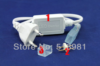 3528 / 5050 SMD LED 220v  Strip Plug, LED Strip Accessory Special Plug 1.8cm X 1.0 cm FREE SHIPPING!