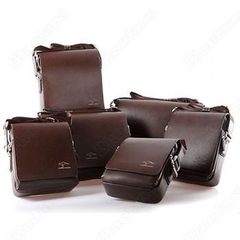 Men Briefcase Leather Cross Body Messenger Bag Popular Shoulder Handbag Classic Design 1J81