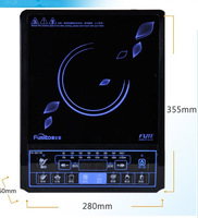 Free shipping 2013(FUSIBAO) high-grade black panel, induction cooker