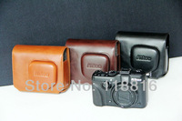 Free Shipping, New Pu Leather Camera Case Bag For Nikon Coolpix P7000 P7100