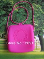 Silicone Fashion Shoulder Bag/ women's shoulder bag/popular type silicone wallet