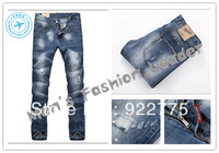 size:28-36#KP0862,2013 Fashion Brand Famous Mans Jeans,Ripped Jeans For Men,Plus Size Jeans Men,Dark Color Denim Men's Jeans