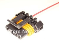 longyue factory sale 20pcs Alternator Wiring Harness Connector Pigtail 98-02 LS1 GM Camaro and Trans Am 15cm wire