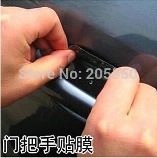 Car sticker door bowl sticker car door handle protection film 4 PCS universal free shipping UAP01(China (Mainland))