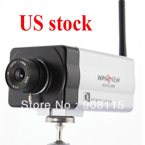 Dropship! Mega Pixel H.264 WiFi Wireless IP CCTV Network camera Dual Audio Support 32G Card Motion Detect Mobile View Cam0464(China (Mainland))