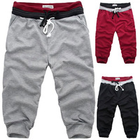 Free Shipping,2014 New Men Casual Sports Shorts/ loose male trousers/ Harem shorts,4 Color,S-XXXL, B439 C302
