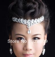 Free shipping-100% real picture Queen crystal tiaras wedding tiara wedding accesory