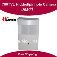 "Hidded Camera, pinhole camera,1/3""SONY SUPER HAD CCD II,700TVL, with Audio,Mini CCD camera,Free Shipping"