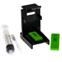 Ink Cartridge Clamp Absorption Clip Pumping  refill tool for HP 816,817, 21,22 60 61 56 57 74 75 860 861 27 for Lexmark 26 16