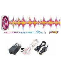 fashionable  sound active el car sticker /equalizer el car sticker/ muisc el car sticker free shipping