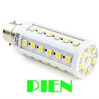 New Arrival 8W E27 B22 5050 SMD 44 LED Corn Light Bulb Energy Saving Lamp 200V-230V Cool/ Warm White Free shipping 1pcs