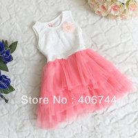 Hot Sell Girls one-piece dress,kids DRESS,TNBL16