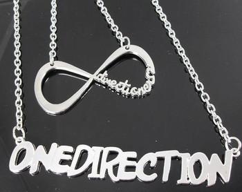 30pcs 1d One Direction Necklaces Mix 15pcs One Direction Necklace and 15pcs Infinity Directioner Necklace Wholesale Jewelry Lots