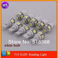 T10-5050-5 SMD led shown wide light license plate lamp, reading lamp driving lights