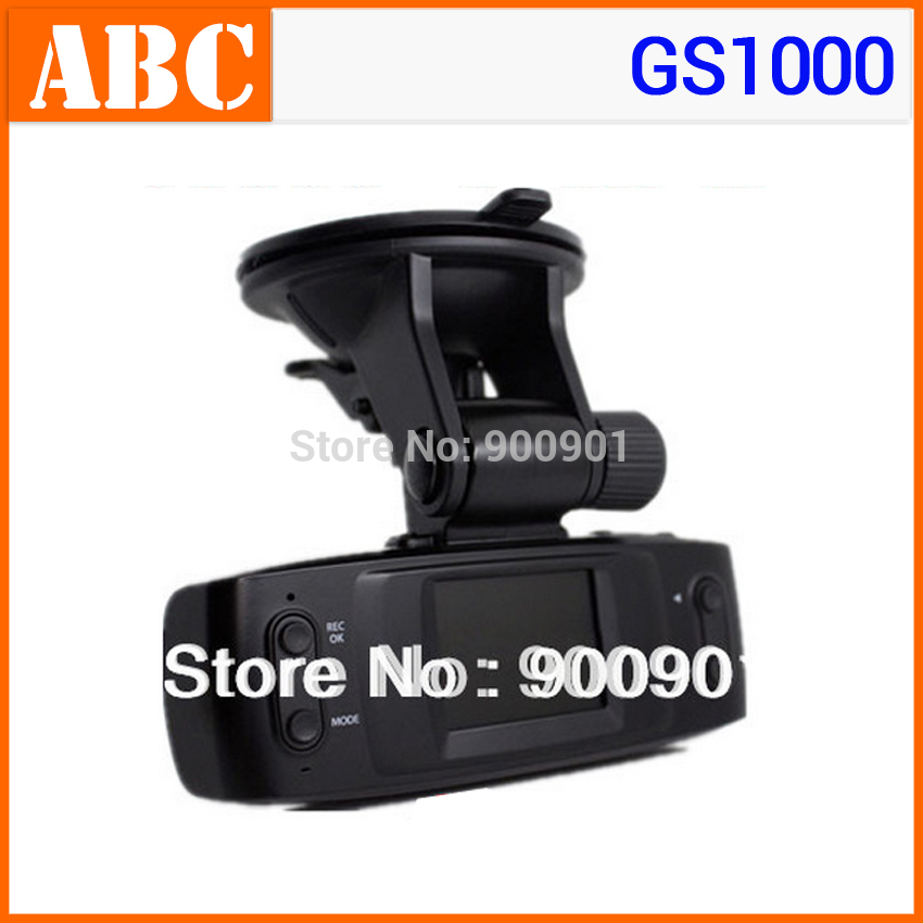 Gift Free Shipping Cheapest Car DVR GS1000 HD 720P USB 2.0 4 IR LED Car Black Box (No GPS G-sensor ) SunPlus Dashboard vehicle(Hong Kong)