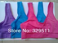 20% Discount 180pcs/lot Ahh Bra Seamless Bra Genie Bra  6 Color  Comfortable Functional Fashion Bra Yoga Sport Bra Retail Box