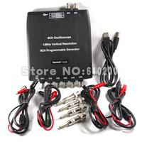 Free shipping Hantek 1008B 8CH /12 DAQ/ PC USB Channels Automotive Diagnostic Digital Oscilloscope Programming signal generator