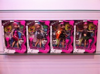 2013 best sale Monster high dolls and  bratzillaz dolls ,4pcs/lot  Joint optional activity  best gift with box ,Free shipping!