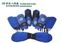 Taekwondo ITF (hand foot arm leg)8 sets guard TKD\boxing protective gear matial arts protection SIZE S M L XL blue and red