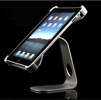 M shape metal Aluminum alloy desktop holder stand for iPad 2 and 3 ,360degree rotating