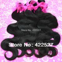 best grade 7A quality mixed length vlrgin Brazilian hair  hurnan hair body wave soft ,tangle and shedding free