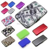 Waterproof Business ID Credit Card Box Wallet Holder Aluminum Metal Pocket Case