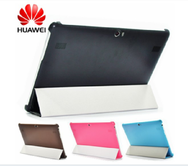 Huawei Mediapad 10 FHD MingFeng Leather Case Five color choices Cost Price Wakeup Function Three Special gifts(China (Mainland))