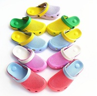 FREE SHIPPING/Retail Hot Selling Fashion New Summer Lovers  Cool Beach Slippers/ Garden Sandals Slippers 5colors