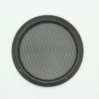 "2PCS Brand new Black heavy duty metal steel 3"" 92.3mm Grill speaker cover"