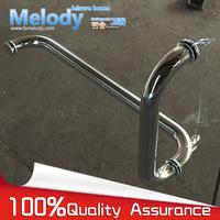Frameless Shower Door Handle L shape 304 stainless steel Chrome