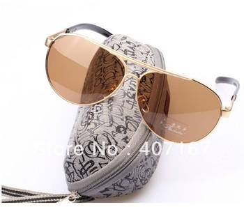 free shipping Men double polarized sunglasses male sunglasses driving mirror male sunglasses myopia 7208.