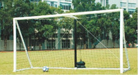 Wholesale&Retail 2013 Hot Sell Inflatable Portable 12'x6'  PVC Soccer Goal With ABS Net,1unit/bag