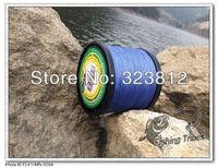 - free shipping  blue braided fishing line  1000M 8