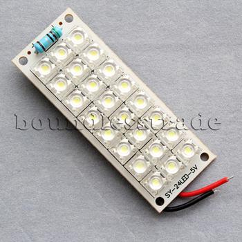 OPHIR 5V 24 Piranha SMD LED Panel Board Lamp Warm White Light Super Bright 400MA_KD008-2x