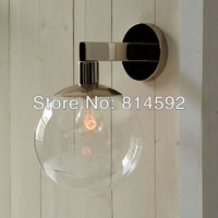 180MM hote sell New products homodern chear glass wall lamps Bell-shaped Antique lamps