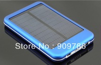 5000mAh Solar Battery Panel Charger Mobile Power bank External Battery Charger for nokia iPhone IPOD series