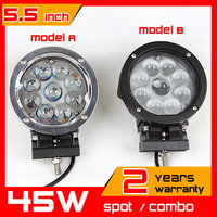 45W LED Work Light Spot Light Offroad Wide Flood Light 10-70V WORK LAMP for TRUCK ATV SUV IP67 6500K