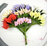 min order $10 Free shipping Dia.1.5cm144pcs/bag  PE artificial rose flower with leaves / ornament foam flower