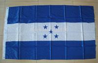 "FREE SHIPPING -""Honduras"" National 3 x 5 Feet flag/Banner,HN Polyester flag, Big flag Wholesale & Retail"