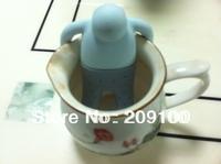 Silicone tea bag /tea-strainer/infuser /Little people shape silicone filtre