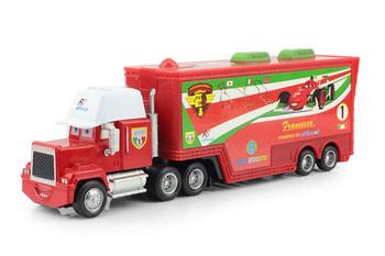 Pixar Cars 2 alloy and plastic Francesco Bernoulli  toy car plastic Mack truck toys For Kids Gift